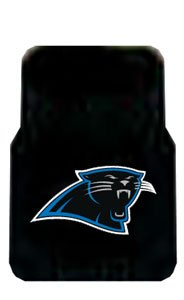 2 Universal Front Floor Mats Nfl Carolina Panthers back-549854