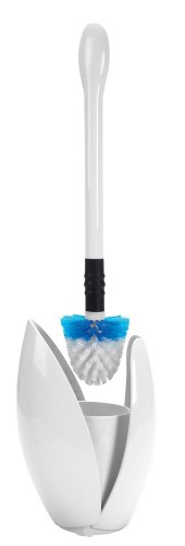 OXO Good Grips Curve Toilet Brush and Canister, White