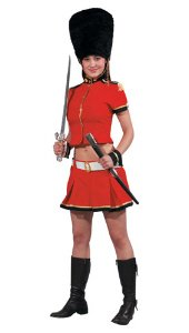 Sexy Royal Guard Female Adult Halloween Costume Size Small