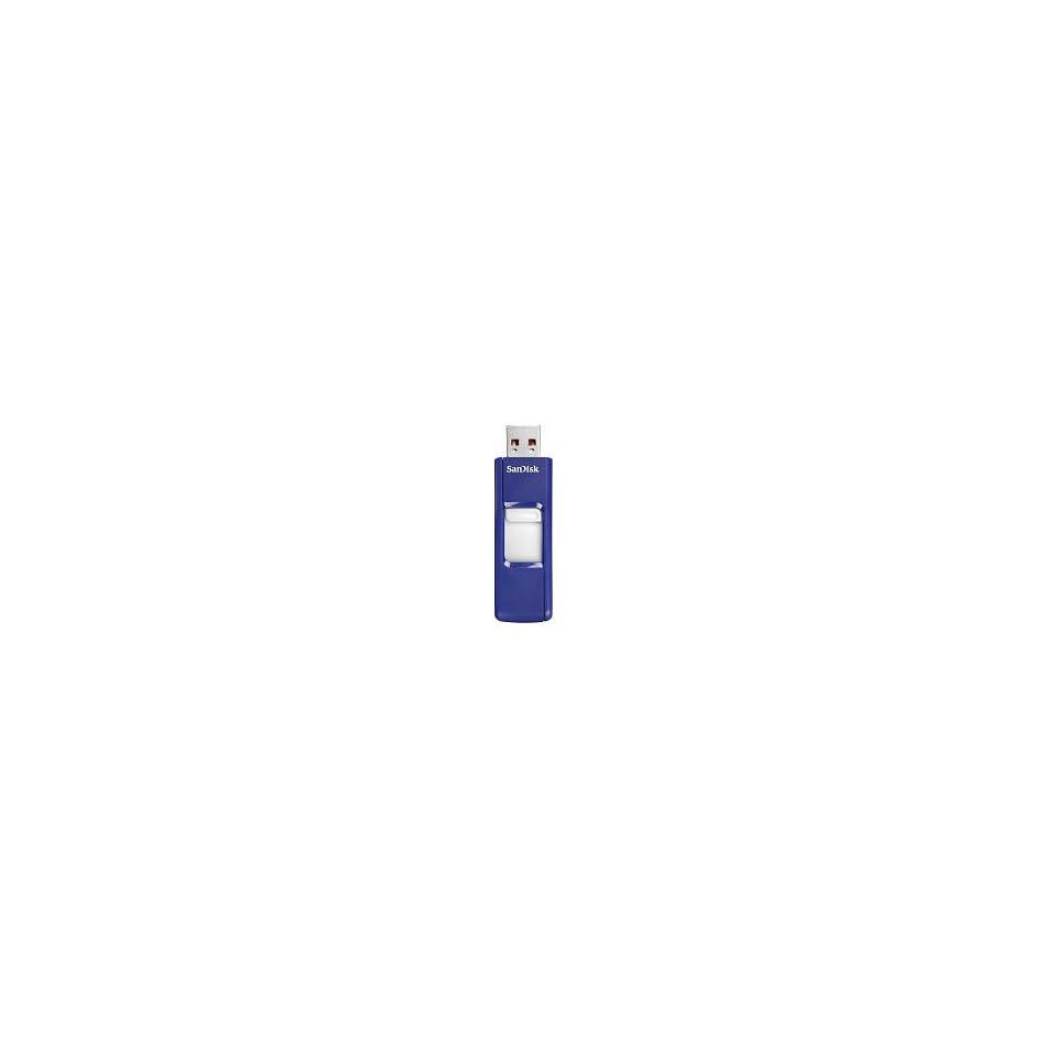 4GB Blue Metallic USB Flash