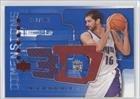 Peja Stojakovic #412 499 Sacramento Kings (Basketball Card) 2003-04 Upper Deck Triple... by Upper Deck Triple Dimensions