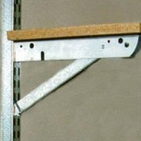Images for John Sterling Fast Mount 300-Pound Capacity 11-Inch Shelf Bracket #BK-0103-11