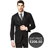 Autograph 2 Button Eveningwear Jacket with Wool