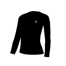 Tyr Long Sleeve T-Shirt Female Black Medium