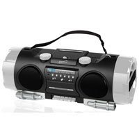SUPERSONICSC-711 HIGH PERFORMANCE PORTABLE MP3/CD PLAYER WITH AM/FM RADIO, USB INPUT & SD CARD SLOT