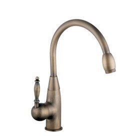 Centerset Antique Brass Kitchen faucet Amazon