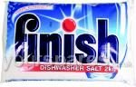 FINISH DISHWASHER SALT 2KG V ITAL IN HARD WATER AREAS TO ENSURE THAT THE WATER SOFTEN- ING UNIT FUNSTIONS PROPERLY