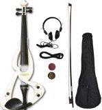 crescent-ev-wt-full-size-4-4-electric-violin-starter-kit-white-includes-crescenttm-digital-e-tuner