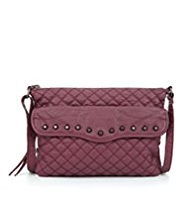 Limited Edition Studded & Quilted Cross-Body Bag