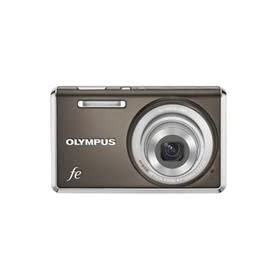 Olympus FE-4030 14.0-Megapixel Digital Camera - Warm Gray