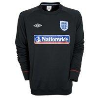2010-11 England Training Sweatshirt (Black)