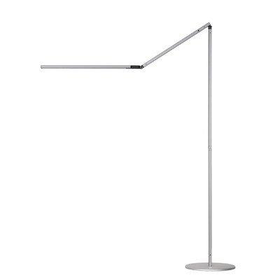 Koncept Ar5000-W-Sil-Flr Z-Bar Led Floor Lamp , Warm Light, Silver