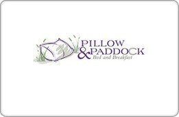 Pillow & Paddock Bed and Breakfast Gift Certificate ($75)