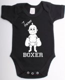 Trainee boxer funny boxing babygrow suit unique baby shower gift baby vest clothes