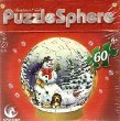 Christmas Noel PuzzleSphere - Snowman and Friends Ornament Jigsaw Puzzle