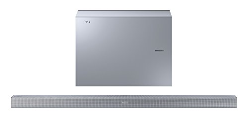 Samsung HW-J551/EN Soundbar, Bluetooth, Wireless, Argento