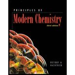 img - for Principles of Modern Chemistry (Saunders Golden Sunburst Series) book / textbook / text book