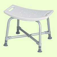 Medline Bariatric Bath Benches-With Back,Each front-590904