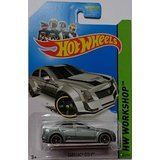 Hot Wheels Workshop Kmart Exclusive Cadillac CTS-V Grey #152/250 (Cadillac Hot Wheels compare prices)