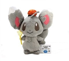 "6.5"" Pokemon Best Wishes Halloween Plush Doll Toy - Minccino / Chillarmy (#47496) - 1"