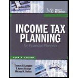 img - for Income Tax Planning for Financial Planners book / textbook / text book