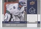 Roberto Luongo Vancouver Canucks (Hockey Card) 2009-10 Upper Deck Game Jersey #GJ-RL