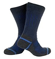 Thermal Stretch Walking Socks with Silver Technology