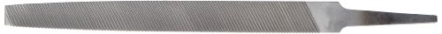 """Nicholson Flat Aluminum Type """"A"""" Hand File, Double Cut, American Pattern, 6"""" Length (Pack of 1)"""