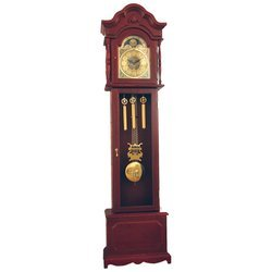Edward Meyer Grandfather Clock with Mother-of-Pearl Inlay