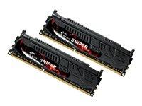 G.Skill Sniper Barrette mémoire 8GB- (2133MHz, CL9, 2 x 4 GB) DDR3-RAM Kit