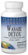 Planetary Herbals Wasabi Detox Tablets 200 mg 60 Count