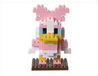 Tokyo Disney Resort Daisy Duck nano block TDR Daisy Duck nanoblock japan import