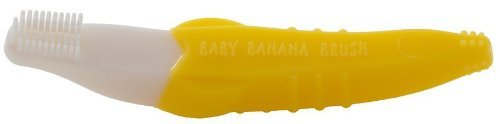 Baby Banana Bendable Training Toothbrush, Toddler Size: 1 Count Newborn, Kid, Child, Childern, Infant, Baby front-479126