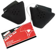 Vega Echo Audio Ear Pad for Motorcycle Helmet - Pair (Black) by Vega