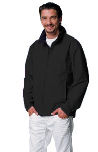 Jerzees Colours Mens Hydra-Shell 2000 Casual Jacket - X-Large - Black