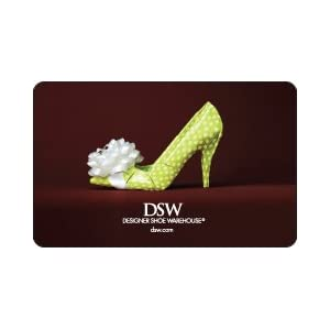 DSW Gift Card $50 Shop DSW stores nationwide to find designer shoes and accessories for men, women, and kids at irresistible prices every day! Included in the gift card purchase price is a $ Secure Shipping fee.