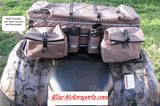 21e98ZiZzgL. SL160  ROCKY MOUNTAIN REAR RACK ALL TERRAIN VEHICLE (ATV) CARGO BAG   KHAKI