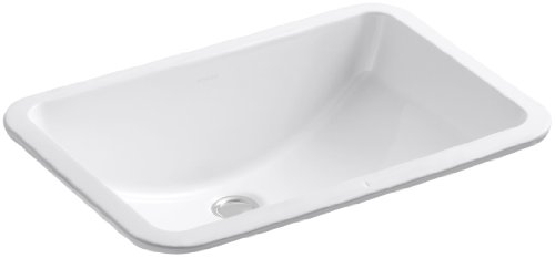 Best Deals! KOHLER K-2214-0 Ladena Undercounter Lavatory, White