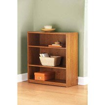 Mainstays 3 Shelf Bookcase-Alder