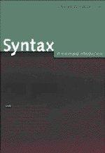 Syntax: A Minimalist Introduction