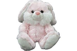 "NICK NACK Nick Nack Bunny 5.5"" Soft Stuffed Toys In Pink"