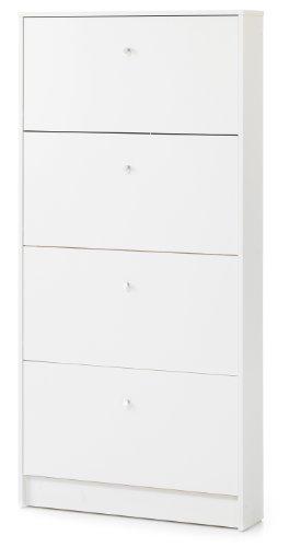 Tvilum Springfield Storage Cabinet, White