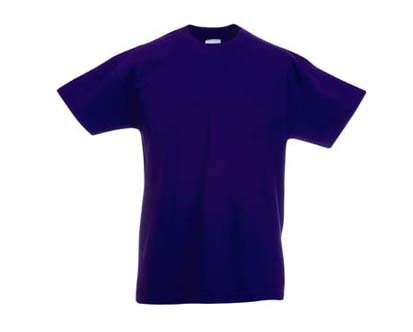Kinder T-Shirt Valueweight; Violett,164 164,Violett