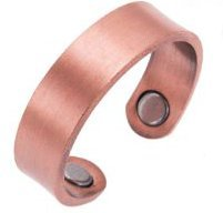 Earth Therapy - Elegant Women or Men's Ring Band in Solid Copper | Magnetic Therapy Ring by Earth Therapy (Copper Rings compare prices)
