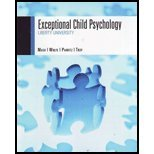 Exceptional Child Psychology