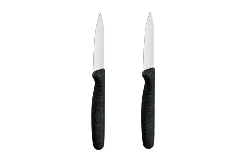 Wenger Grand Maitre 3-1/4-Inch Spire Paring Knife, Set of 2