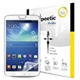 Poetic ProFilm Screen Protector Ultra Clear for Samsung Galaxy Tab 3 8.0 (3-Pack) (3 Year Manufacturer Warranty From Poetic)