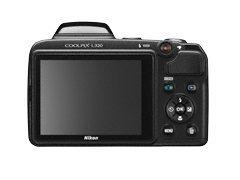 Nikon Coolpix L320 16.1MP Digital Camera with 26x Optical Zoom - BLACK