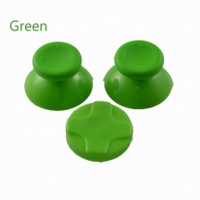 258Stickers® Xbox 360 Green Controller Thumbsticks + D Pad 18 Optional Colors