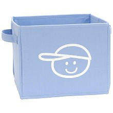 Koala Baby Bin - Blue with White
